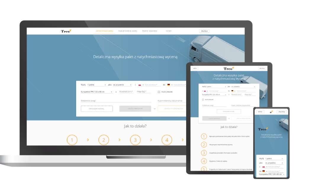 TREO web application